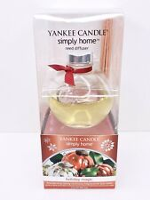 Yankee Candle Simply Home Reed Oil Diffuser Christmas HOLIDAY MAGIC 3 fl oz