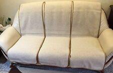 Protector de muebles juego 6 Piezas sofá capa en Óptica la onda Beige 100% Lana