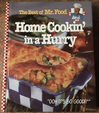 The Best of Mr. Food Home Cooking in a hurry cookbook