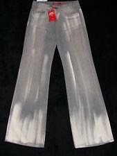 Miss Sixty Jeans New Tommy  28 klasse grau weiß Batik Optik wie gemalt