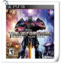 PS3 Transformers Rise of the Dark Spark SONY Games Action Activision