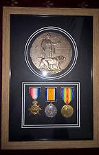 Cadre médaille boîte 3D cadre médailles militaire guerre mondiale + Memorial
