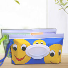 Clean Wipes Carrying Case Wet Wipes Bag Cosmetic Pouch Wipes Container STDE  J