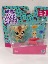Littlest Pet Shop 2-116 Quincy Goatee & 2-117 Chikles Scrapper 2 Figures New
