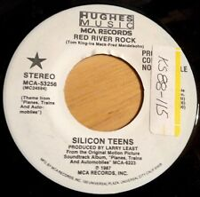 Silicon Teens 45 Red River Rock  PROMO  NM vinyl