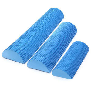 NEW Half Round Foam Roller Yoga Pilates Fitness Therapy Exercise Grid Gym