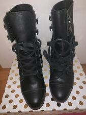 NWT Sorel Womens Size 6 Leather Lace Up Boot NL2965-010