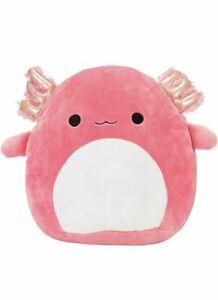 40cm ARCHIE Pink AXOLOTL Squishmallow  Ultra Soft Plush KellyToy NEW