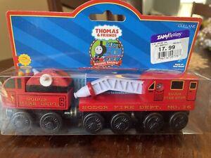 Fire Rescue Thomas & Friends Wooden Railway Sodor Gullane 2001