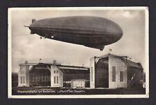 Graf Zeppelin Posted Vintage German Postcard RPPC