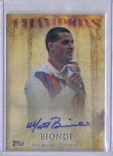 Matt Biondi 2012 Topps U.S. Olympic Team & Hopefuls Champions Autograph Auto