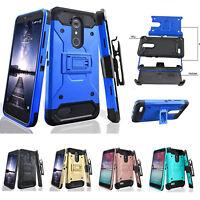 ZTE ZMAX One Case,ZTE Blade Spark,Grand X4,Rugged Holster [Kickstand] Clip Case