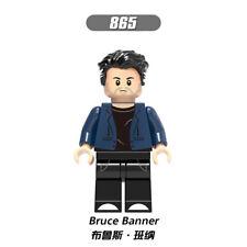 1PCS Marvel Avengers Endgame Bruce Banner SuperHeroes Comic Figure Bricks Toy