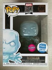 Funko Pop- ICEMAN Flocked! - MARVEL 80 YRS - Funko Shop Exclusive!  In Stock!