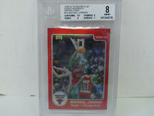 BGS 8 1996-97 Topps Stadium Club Finest Reprints #24 Michael Jordan REFRACTOR