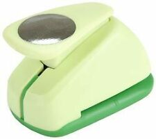 """CIRCLE 1"""" Jumbo Clever Lever Paper Punch Marvy"""