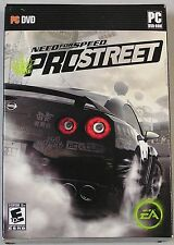 Video Game PC Need for Speed ProStreet Pro Street EA NEW SEALED