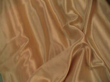 Gold Slipper Satin Silky Shiny Dress Fabric 150cmWide SOLD BY THE METRE FREE P+P
