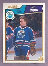 1983-84 OPC O-PEE-CHEE Single Andy Moog Edmonton Oilers #40