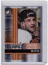 RON SUTTER 11/12 ITG Broad Street Boys Base Card #51 Philadelphia Flyers SP