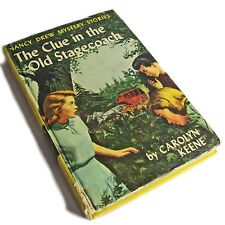 Vintage Nancy Drew Book 37: The Clue in the Old Stagecoach