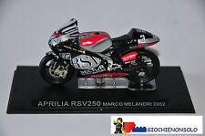 MOTO COLLEZIONE GP59 - APRILIA RSV250 MARCO MELANDRI ANNO 2002