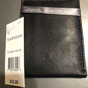 Van Heusen RFID PROTECTION slim wallet