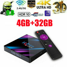 H96 Max Android 9.0 4k TV Box rk3318 2.4g/5g wifi 4+32gb Ultra High Definition