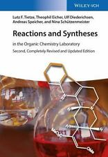 SELLING ON AMAZON FOR $328--Reactions and Syntheses:In the Organic Chemistry Lab
