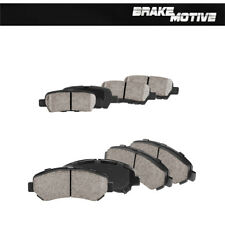Front And Rear Ceramic Brake Pads For 2009 2010 2011 2012 2013 Nissan Maxima