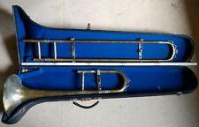 Posaune Trombone C. A. Wunderlich Siebenbrunn Ambassador Trompete in Koffer