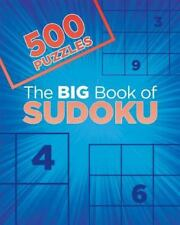 500 Puzzles: The Big Book of Sudoku by Parragon Books (2015, Paperback)