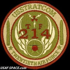 USAF USSTRATCOM -FORCE 214- LAND-BASED INTERCONTINENTAL BALLISTIC MISSILES PATCH