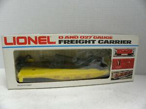 Lionel-O/O27  Union Pacific Derrick Car Item #6-9235  NIB