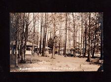 Postcard Lake Carey Pa Picnic Grounds  Near Tunkhannock  Wyoming County