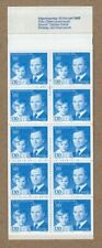 Sweden 1980 King Gustaf XVI and new heir to the throne Royalty booklet