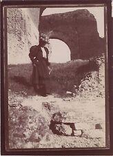 Rome Roma Italia Photo amateur Voyage en Italie 1898 Vintage citrate