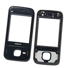 Cubierta Negra Fascia Delantera Para Teléfono Nokia N85 Pieza Original