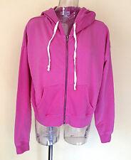FULL TILT Women's~Med ~Pink Cropped Zip Hoodie~NWT!