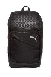 NWT Puma Epoch Laptop Large Men Backpack Black