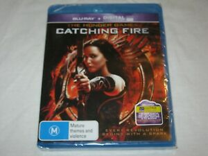 The Hunger Games - Catching Fire - Brand New & Sealed - Region B - Blu Ray