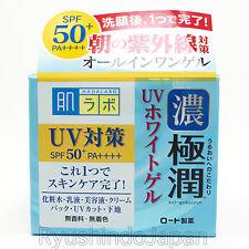 Rohto Hadalabo Gokujyun All-in-one UV Whitening Gel SPF50+ PA++++ 90g