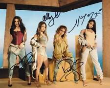Fifth Harmony In-Person AUTHENTIC Autographed Group Photo COA SHA #80768