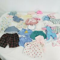 Vintage Doll Clothing Lot for large size Dolls Handmade and more 30 pieces