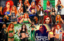 Becky Lynch (WWE) Collage Poster
