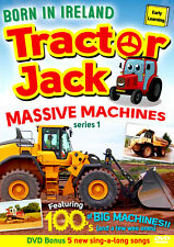 Tractor Jack: Born In Ireland - Massive Machines (Series 1) | NEW SEALED DVD