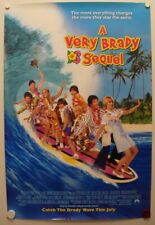 A VERY BRADY SEQUEL 1996 Shelly Long, Gary Cole, Sue Casey-One Sheet