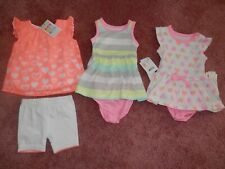Lot Baby Girl Outfits Sets Size 0 3 Months Healthtex NEW NWT