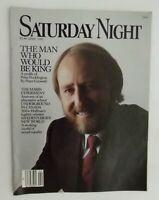 Vintage Saturday Night Magazine April 1982 A profile of Peter Pocklington
