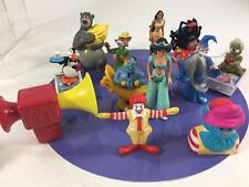 McDonalds Vtg Promo Happy Meal Disney Lot 1980's Ronald Aladdin Brer Fox 12 pc